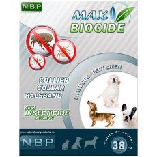 MAX BIOCIDE Antiparazitska ovratnica za majhne pse - 38 cm
