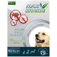 MAX BIOCIDE Antiparazitska ovratnica za velike pse - 75 cm