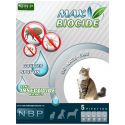 MAX BIOCIDE antiparazitske kapljice za mačke, 5 kosov